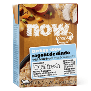 Now Fresh Grain Free Turkey Stew with Bone Broth 182g Cat Wet Food/Toppers