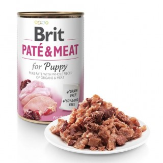 Brit Pate and Meat Grain-Free 400g Puppy Wet Food