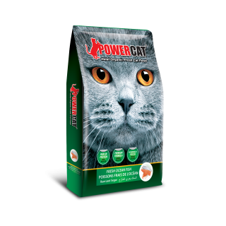 PowerCat Fresh Ocean Fish Cat Dry Food