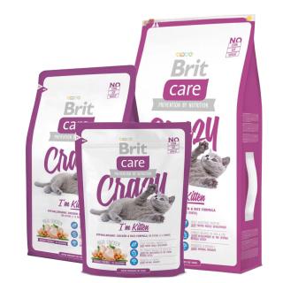 Brit Care Crazy I'm Kitten Cat Dry Food