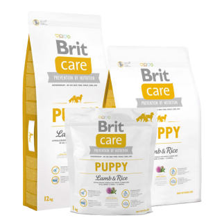 Brit Care Hypoallergenic Lamb and Rice Puppy Dry Food