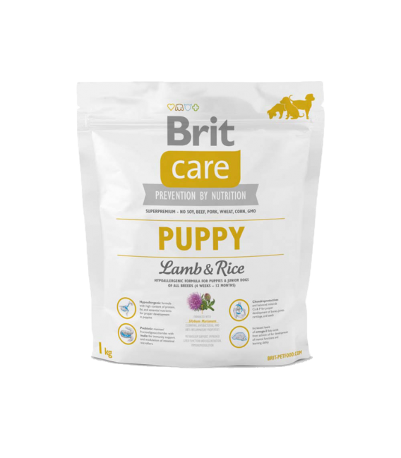 Brit Care Puppy Lamb & Rice Dog Dry Food